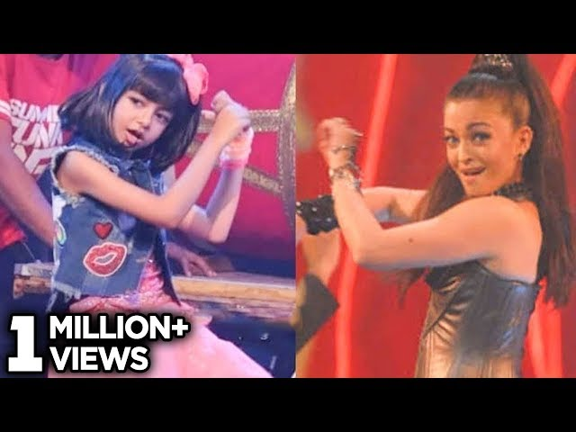 Aaradhya Bachchan Dances Like Mother Aishwarya Rai On Stage!!