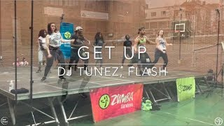 GET UP  DJ TUNEZ, FLASH   Zumba® Choregraphy By Atef Blagui