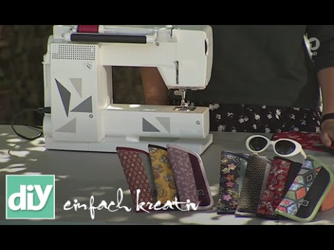 Brillenetui selber nähen | DIY einfach kreativ