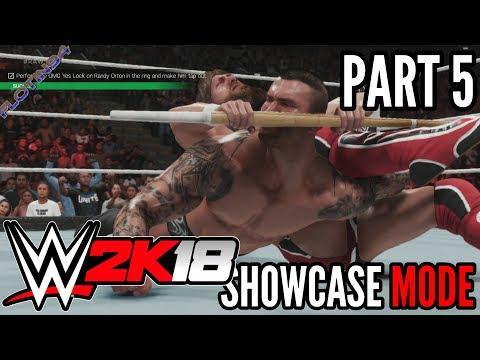 WWE 2K19   SHOWCASE #5   Daniel Bryan vs Randy Orton Street Fight