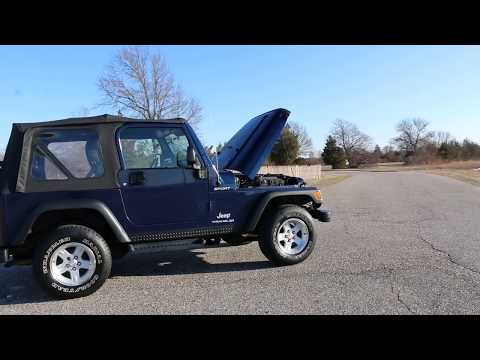 2004 Jeep Wrangler Sport: 🔴2004 Jeep Wrangler 4x4 Sport For Sale~Soft Top~Extras~Excellent~NO RESERVE!🔴