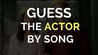 Guess the Bollywood Actor Game | Song Challenge