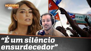 'Cuba Libre': Juliana Paes questiona silêncio do Twitter sobre ditadura