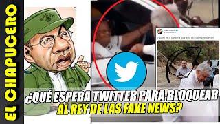 Redes exigen eliminar cuentas de Borolas, rey de fake news en Mexico