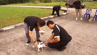Radio Television Brunei (RTB) UAV Training