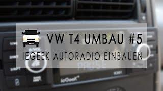 Neues Autoradio mit Bluetooth einbauen   VW T4 Umbau #5   Vansinn