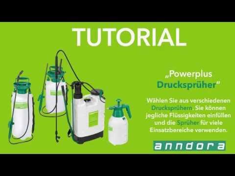 Anwendungsvideo - Gartenspritze Drucksprüher