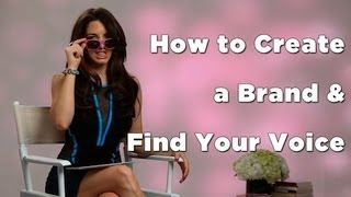 How to Create a Brand & Find Your Voice