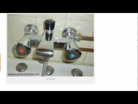 comment monter robinet lavabo