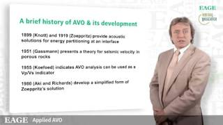 EAGE E-Lecture: Applied Avo by Dr. Anthony N. Fogg