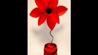 Украшения из бумаги .Handmade. подарок своими руками,Цветок из бумаги.flower