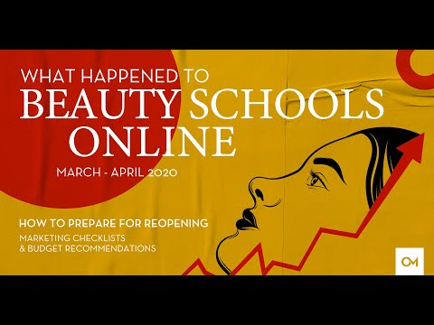What Happened to Beauty Schools Online During COVID-19