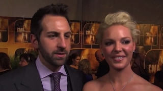 Josh Kelley & Katherine Heigl - Favorite Christmas Gifts | CMA Country Christmas |  CMA