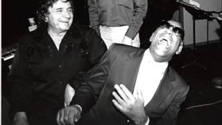 Johnny Cash and Ray Charles  Cazy old Solider