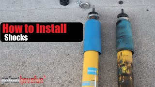 How to change Shocks   Shock Replacement   Dampers   Shock Absorbers (Bilstein)   AnthonyJ350