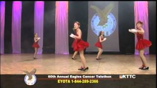 Dance Dana and Company - Bandstand Boogie (Barry Manilow) - Eagles Cancer Telethon 2014