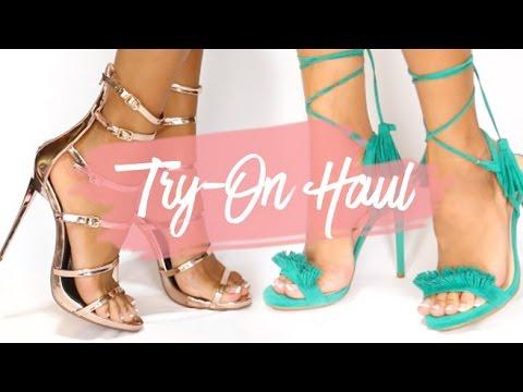 HAUL | Heels, Sandals & Boots! | LolaShoetique