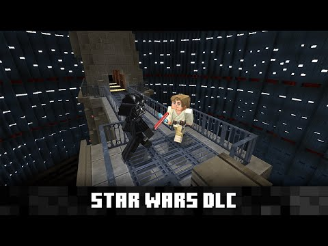 Minecraft : Explore the Star Wars galaxy in Minecraft