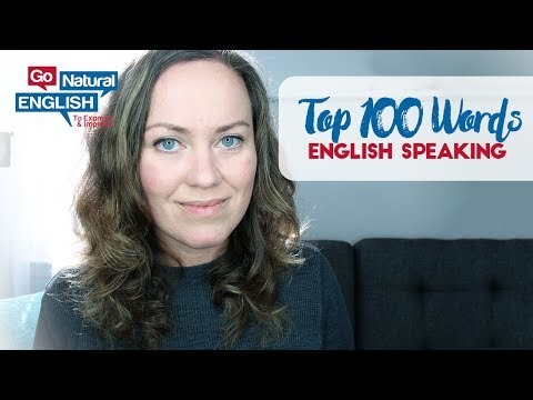 100 Most Common Words in English Speaking - Go Natural English Lesson