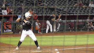 Cayden Wallace (6-11-2019) at the Perfect Game National Showcase (Phoenix, AZ).