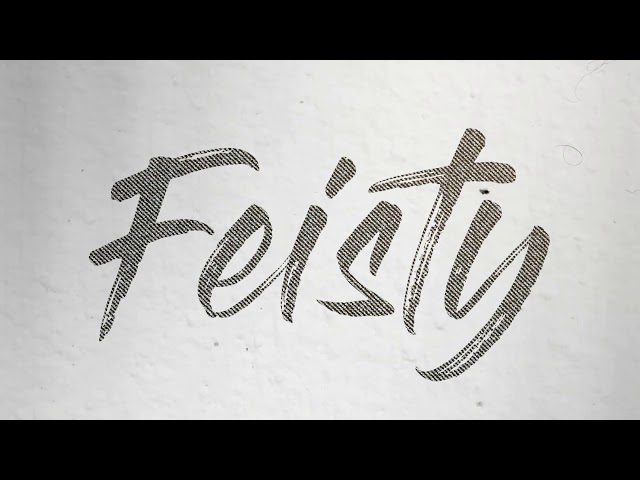 Feisty (Lyric) - Saarloos