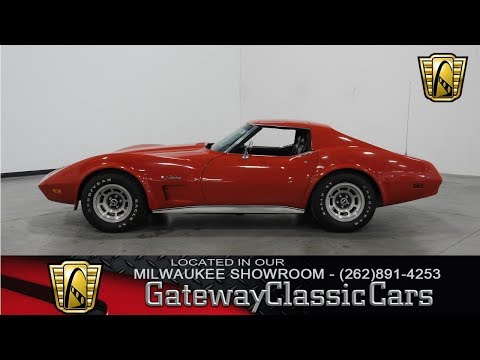 Video of 1974 Corvette - $17,995.00 Offered by Gateway Classic Cars - Milwaukee - L7ZH