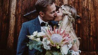 Christina & Stefan Rustic Boho Wedding In Austria