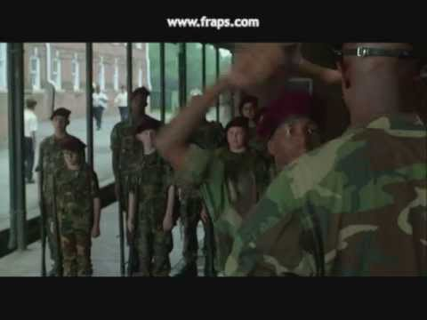 Major Payne, Funny Scene