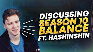 DISCUSSING SEASON 10 META/BALANCE (ft. Hashinshin) | League of Legends