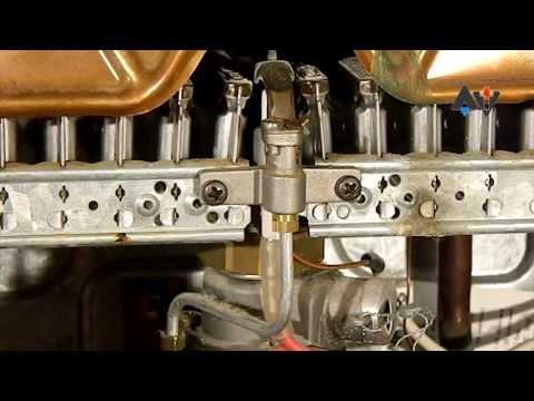 Junkers WR 400-1 KD-1 P23 #3 Ремонт Академия теплотехники