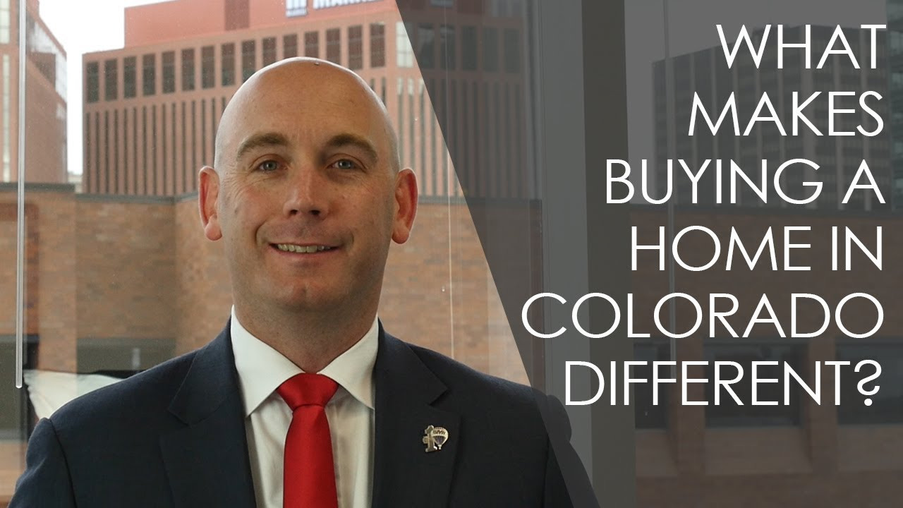 Why Is Buying a Home in Colorado Different Than in Other States?