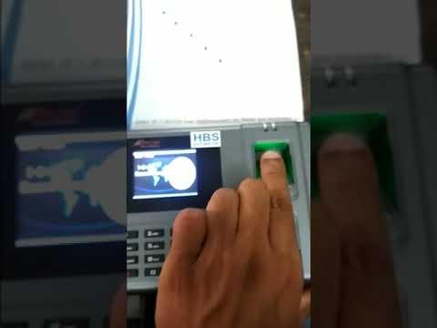 Realtime T6 Biometric Attendance Machine