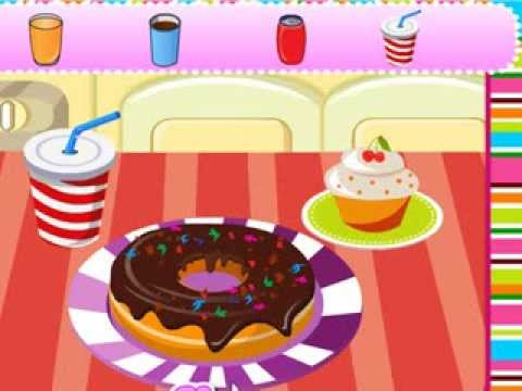 Video of Decoration Game-Melting Donut