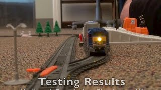 preview picture of video 'Jakks Power Trains: Testing the Pacific Power Trains Auto Loader City'