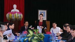 Chủ tịch Quốc hội thăm và làm việc tại huyện Nậm Nhùn, Lai Châu