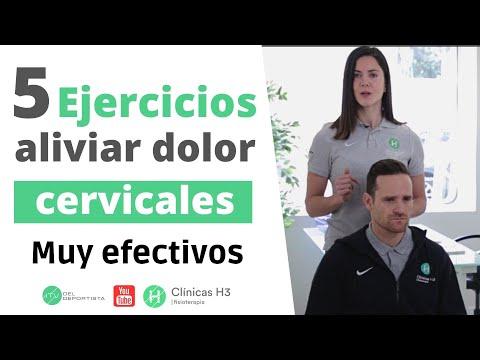 5 ejercicios para aliviar el dolor de cervicales en casa 🏡 qué ✅SÍ FUNCIONAN✅ 👍