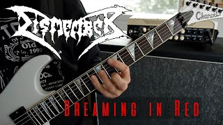 Dismember - Dreaming in red guitar cover all solos