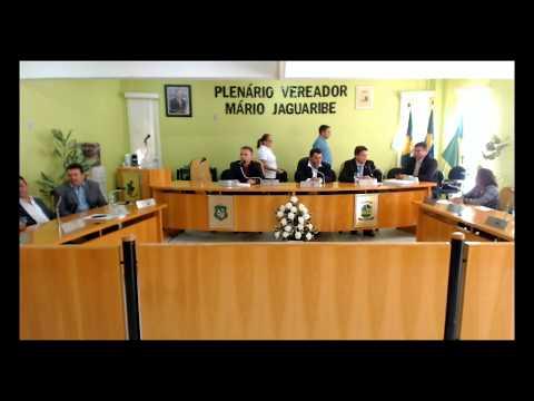 Sessão Ordinária da Câmara de Jaguaruana - 03/08/2017
