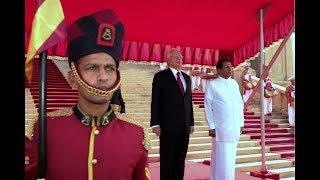 Najib receives grand welcome at Sri Lanka
