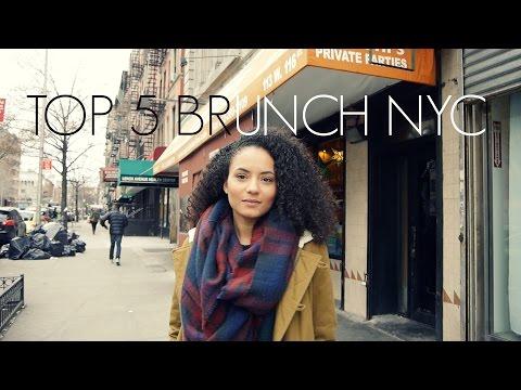 Video TOP 5 BRUNCH RESTAURANTS IN NYC