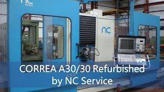 Fresadora bancada fija CORREA A30/30 NC Service