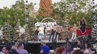 Dancing with the Stars rehersal at The Grove