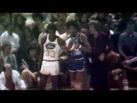 "Julius ""Dr. J"" Erving Looks Back at the 1976 ABA Dunk Contest"