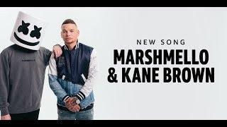 🤔🤔 Marshmello X Kane Brown   REACTION   One Thing Right
