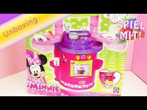 Minnie Mouse Spielküche | Kochen und Backen fürKleinkinder | Unboxing