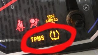 How To Reset Low Tire Pressure Light (TPMS) Tire Monitoring System