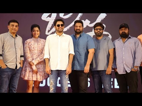 Bheeshma Movie Team Success Meet Event