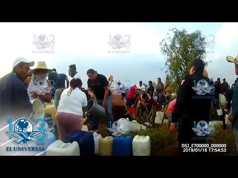 VIDEO 'Señores aléjense', advirtió policía a pobladores de Tlahuelilpan previo a la explosión