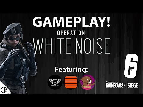 Lets Play White Noise - Tom Clancy's Rainbow Six Siege - R6