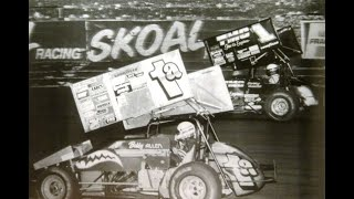 1990 Knoxville Nationals A Main - August 18, 1990